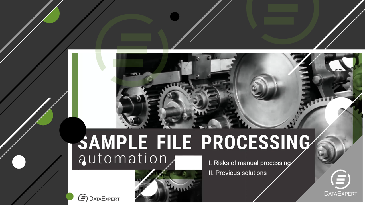 Automation of sample file processing
